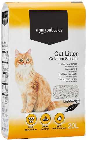 Silikat-Katzenstreu
