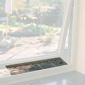 Kippfenster Schutzgitter für oben oder unten